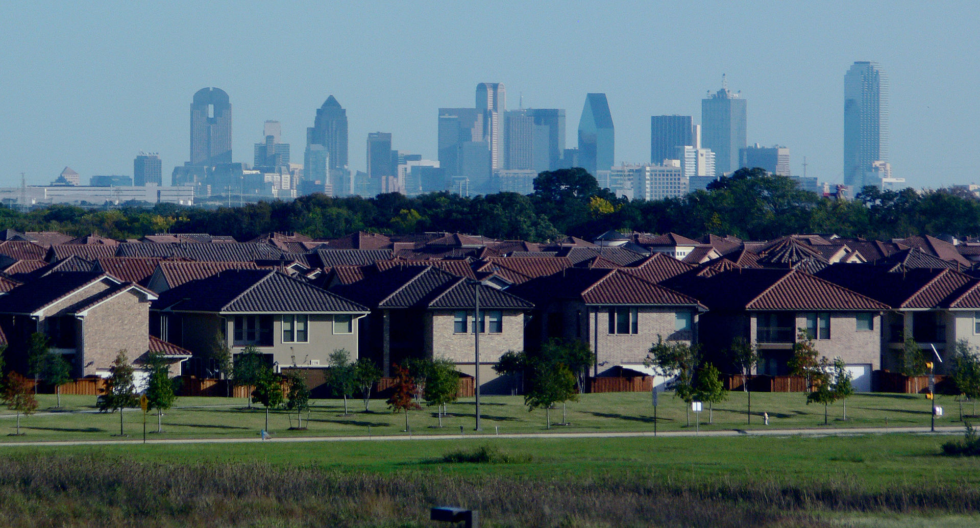 Skyline and Suburbs