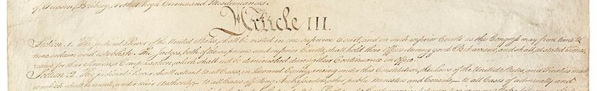 Constitution Series: The Separation of Powers - Tennessee Star