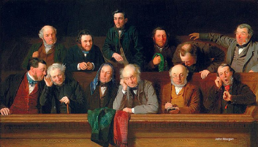 The Jury by John Morgan