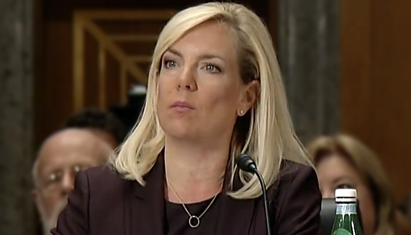dhs secretary kirstjen nielsen border wall    physical barrier tennessee star