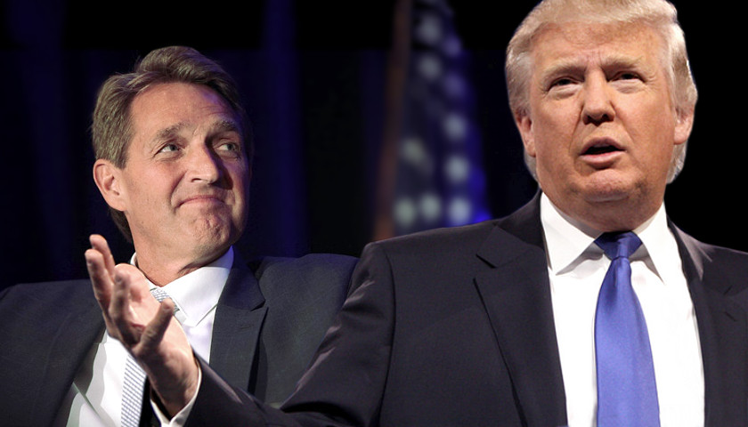 Jeff Flake, Donald Trump