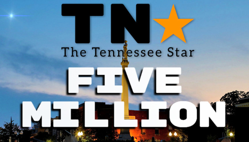 The Tennessee Star Celebrates Its First Anniversary and Over 5 Million Visits