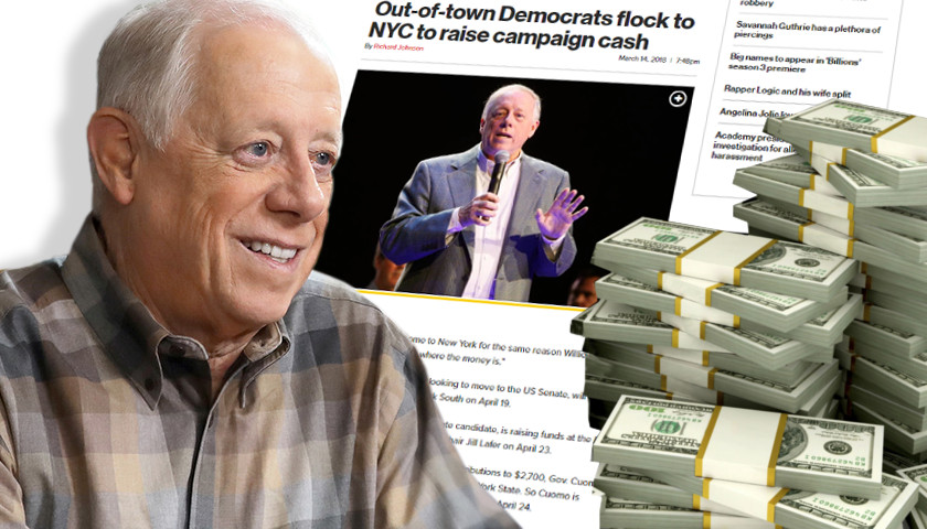 Democrat Phil Bredesen Claims 'I'm Not Running Against Donald Trump,' But Heads to New York City to Raise Big Money from Never Trump Liberals