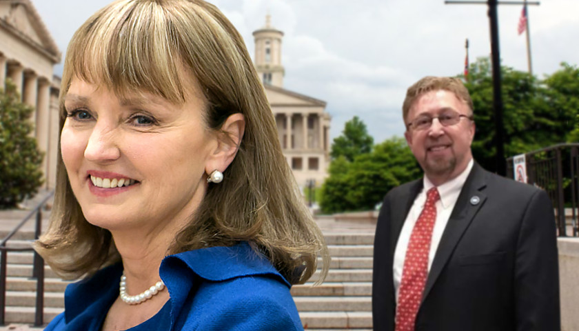 Speaker Beth Harwell and State Rep David Byrd