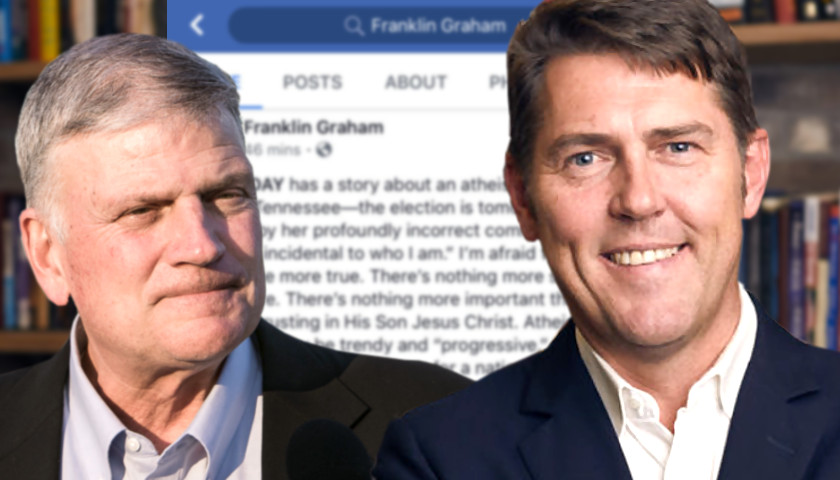 Franklin Graham and Shane Reeves