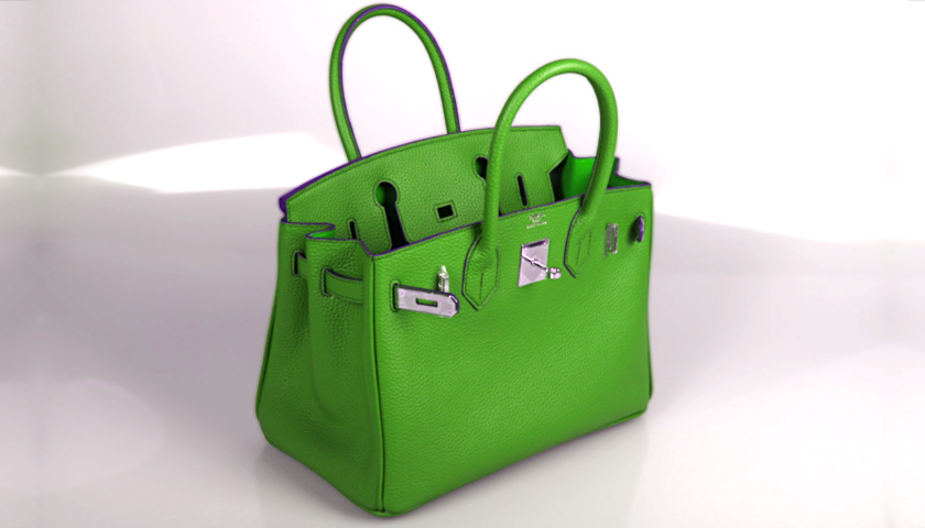 Designer Handbag green