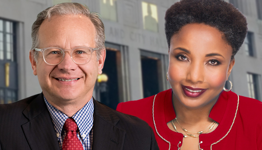 David Briley and Carol Swain