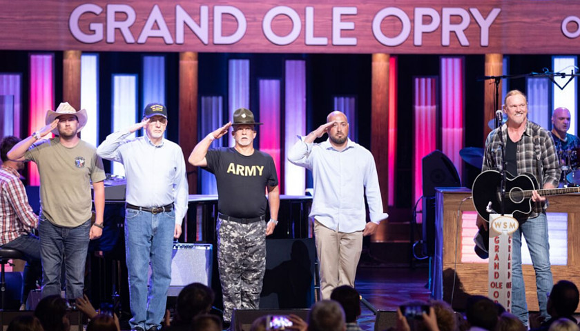 Grand Ole Opry Honors Military Families