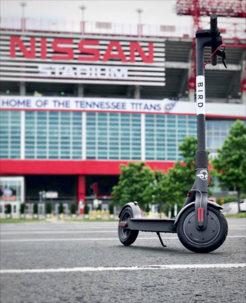 Bird Scooter Company's Efforts To Wing It Makes Metro