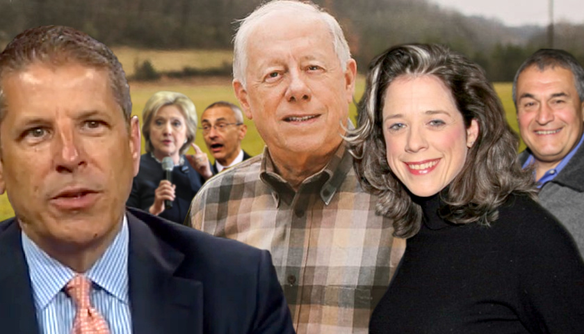 Facebook47Facebook Like47TwitterLinkedInPrinter FriendlyEmailSumoMe Far Left Hillary Clinton-Supporting Washington, D.C. Lobbyists Host Big Fundraiser for 'Absolute Total Tool' Phil Bredesen