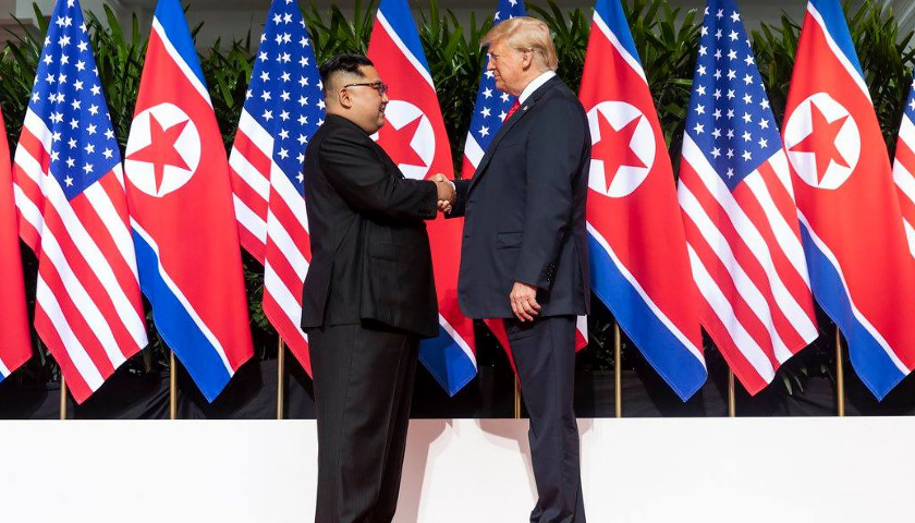 Trump and Kim at Summit
