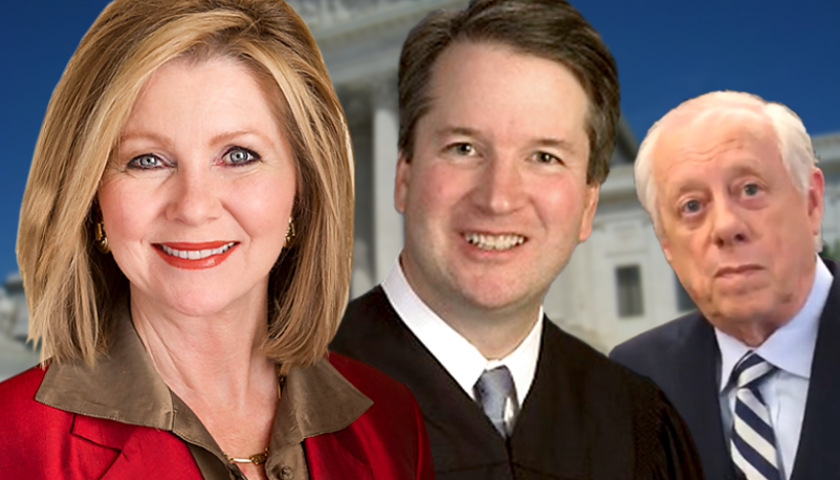 Marsha Blackburn, Brett Kavanaugh, Phil Bredesen