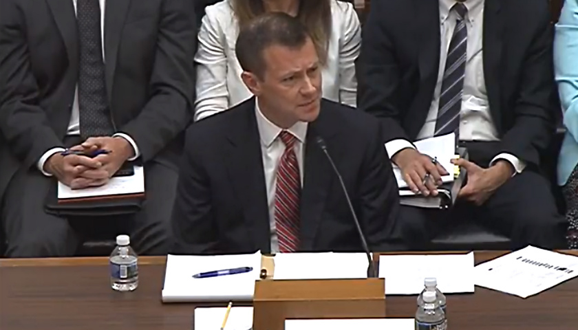 Peter Strzok Text Messages >> FBI Official Peter Strzok Testifies About Anti-Trump Text Messages - Tennessee Star