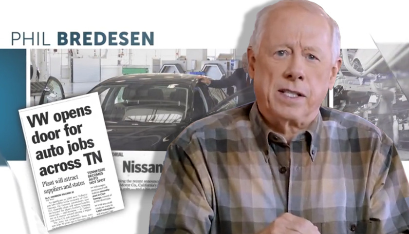 fibber phil bredesen misleads  nissan  volkswagen production  tennessee tennessee star
