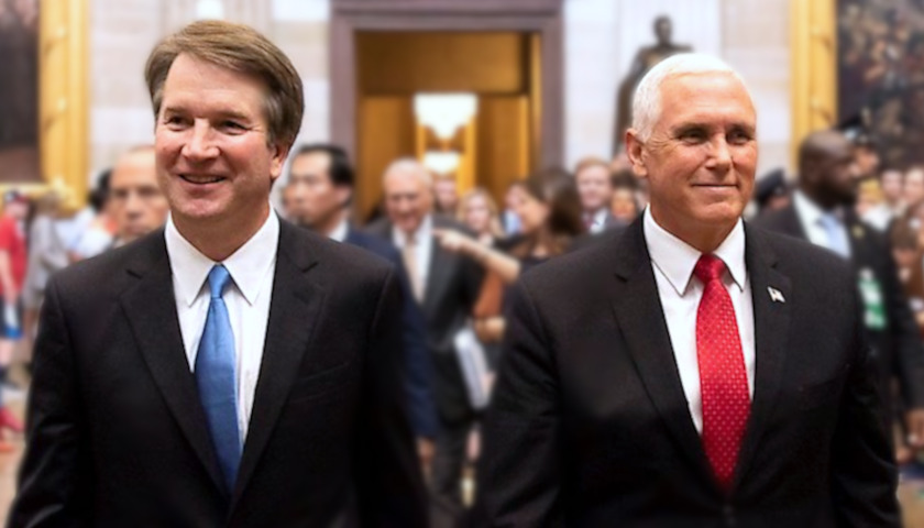 Brett Kavanaugh, Mike Pence