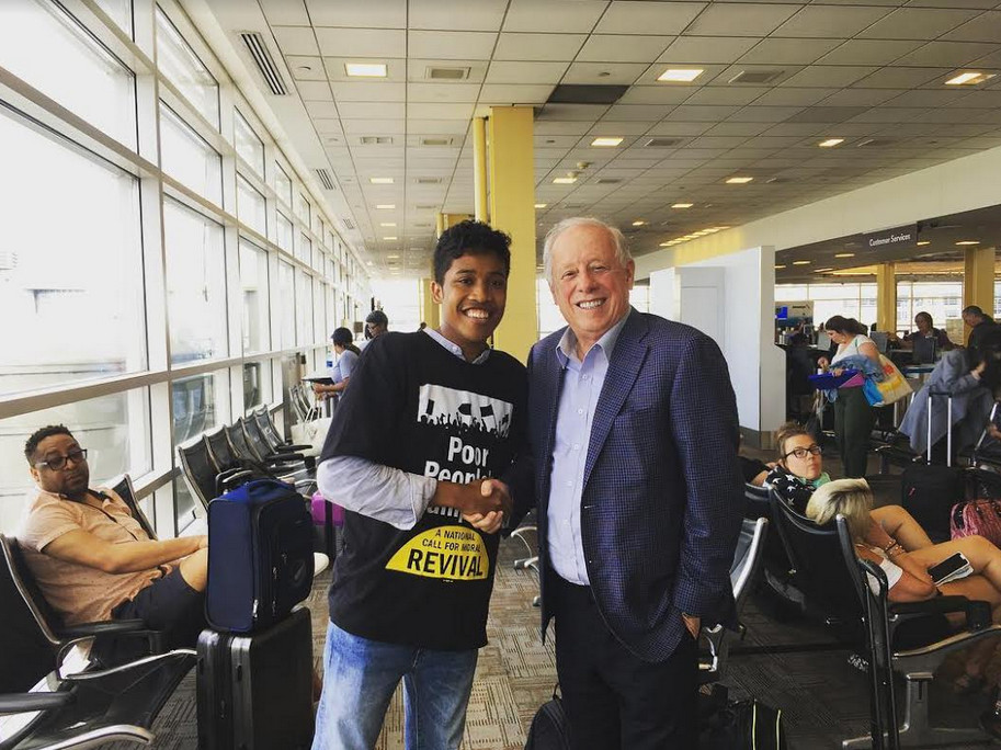 Phil Bredesen Met in June With Blackburn Rally Protester Justin Jones, the Man Police Asked Judicial Commissioner to Charge With Resisting Arrest
