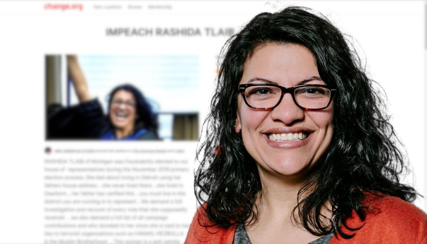 150,000 Sign Petition to Impeach Michigan's Rashida Tlaib