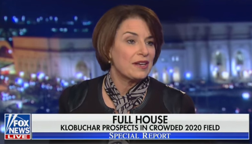 Klobuchar Says You Have to Go Where it's 'Uncomfortable,' Like 'Fox
