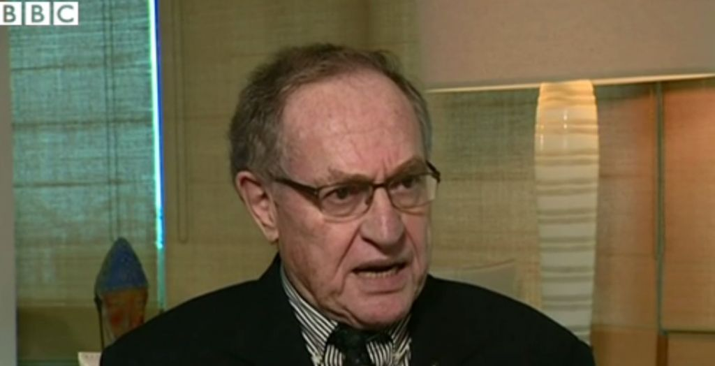 Tennessee - Alan Dershowitz