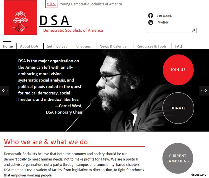 Middle Tennessee Chapter of Democratic Socialists of America Looking