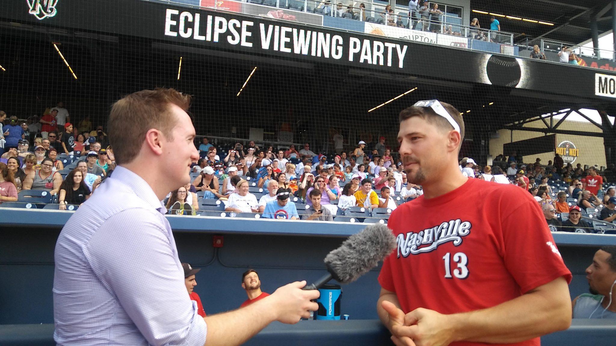 Nashville Sounds catcher Ryan Lavarnway