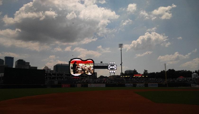 The Nashville Symphony Plays on the Scoreboard