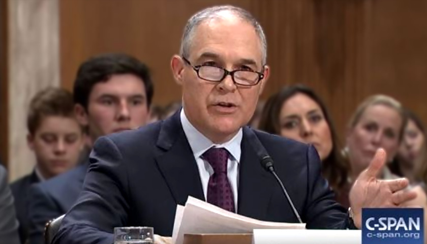 EPA Chief Scott Priutt