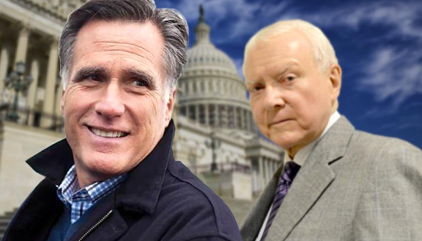 Mitt Romney & Orrin Hatch