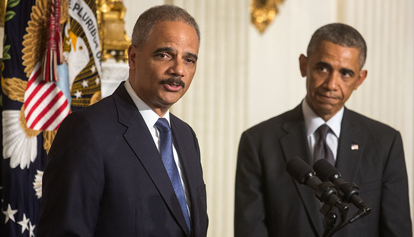 Eric Holder, Barack Obama