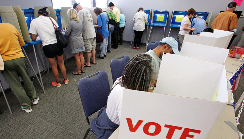 voters polling place