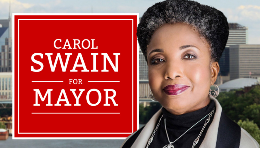 Carol Swain runs for Nashville Mayor'