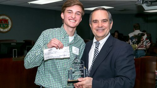 Cooper Moran Wins Constitution Bee