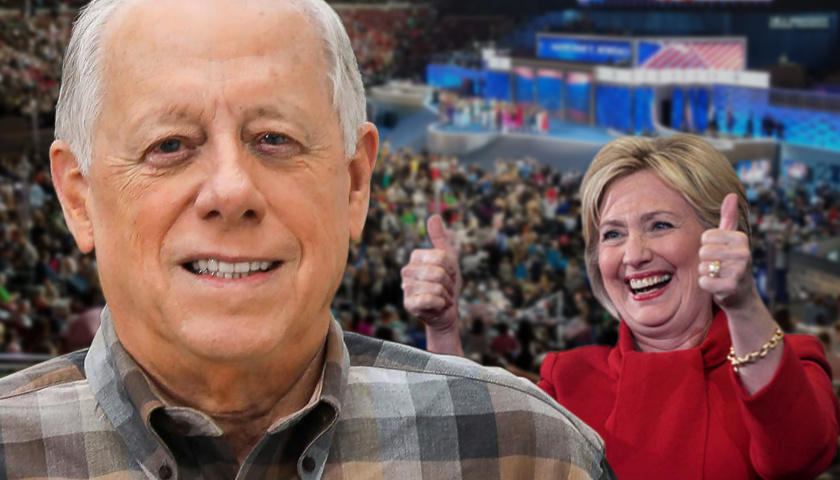 Phil Bredesen and Hillary Clinton