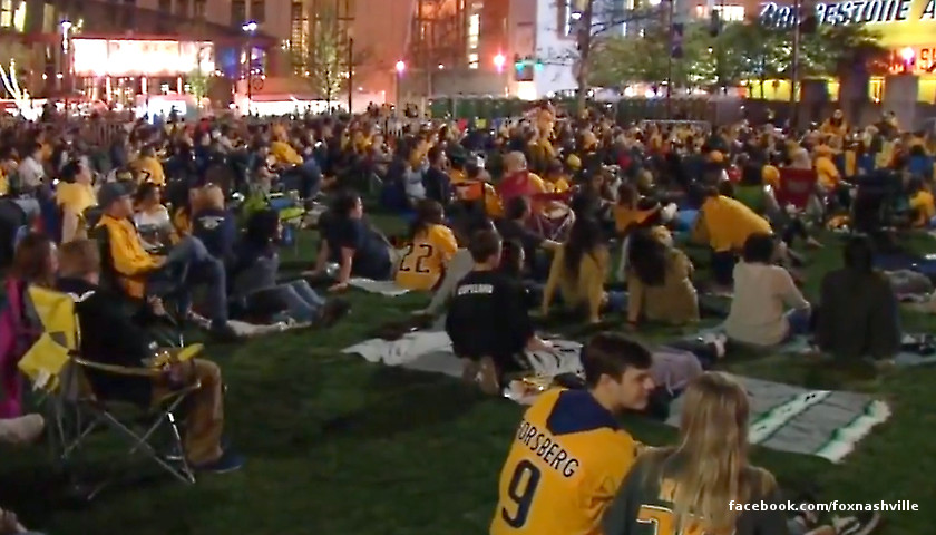 Preds in the park
