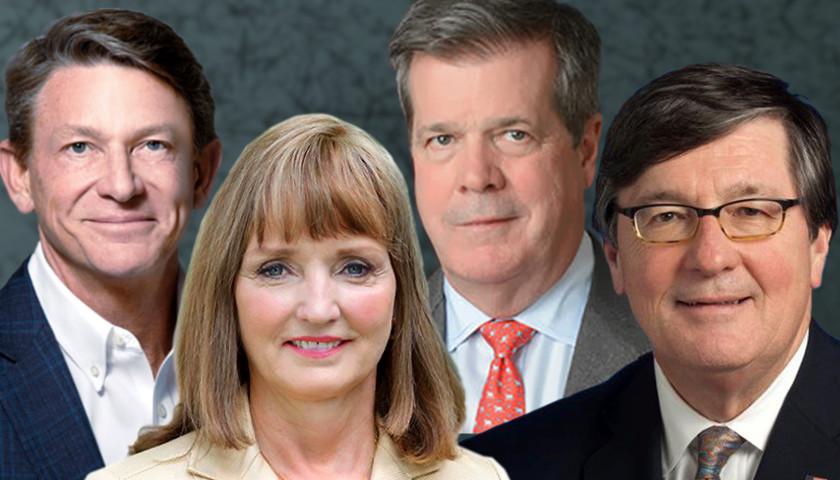 Randy Boyd, Beth harwell, Karl Dean, Craig Fitzhugh
