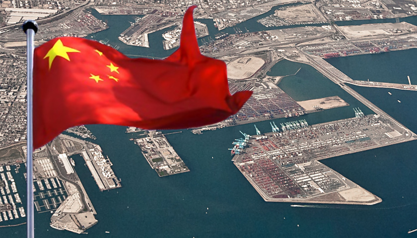 China, Port of Long Beach