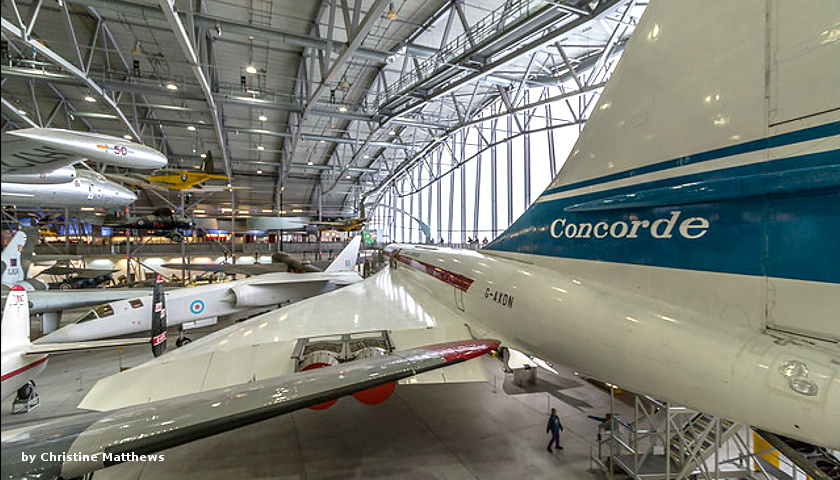 Concorde airplane