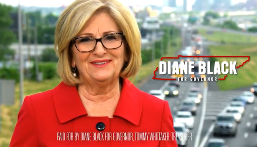 In a New TV Ad, Diane Black Says 'We Need Lanes, Not Trains