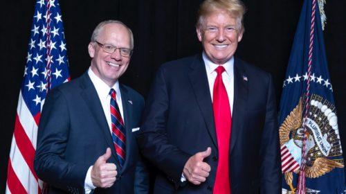 Rose and Trump