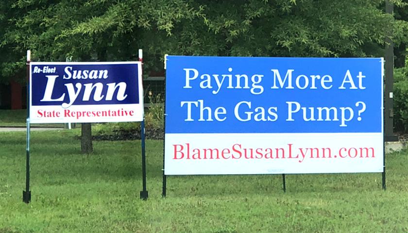 Aaron Shane anti-Susan Lynn gas tax