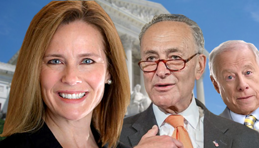 Amy Coney Barrett, Chuck Schumer, Phil Bredesen