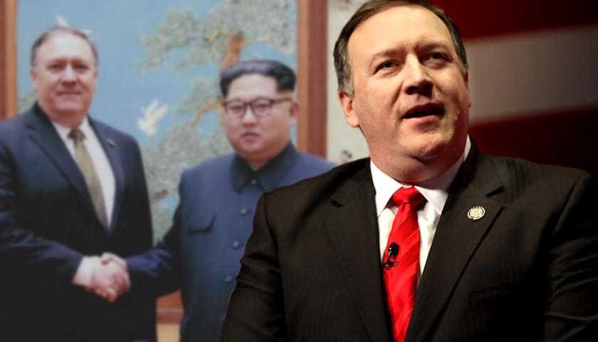 Mike Pompeo, Kim Jong Un