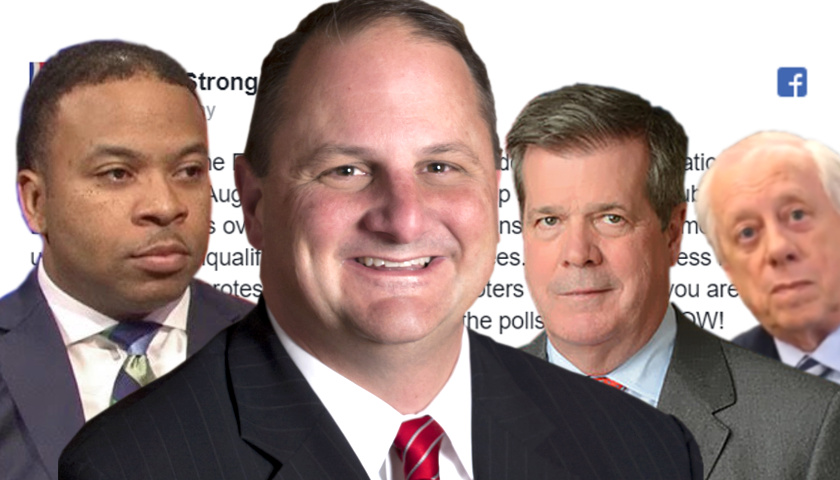 Corey Strong, Scott Golden, Karl Dean, Phil Bredesen