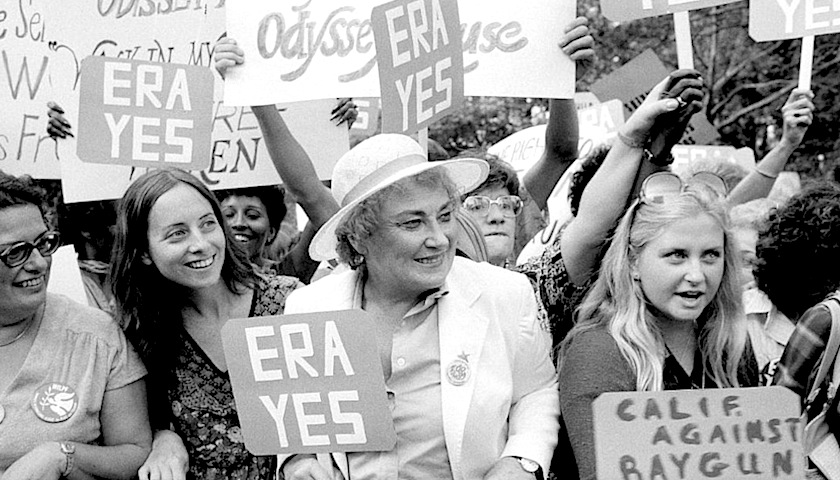 Equal Rights Amendment protest