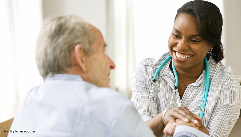 doc nurse senior patient