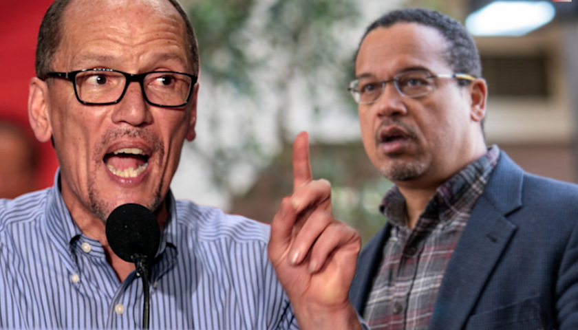 Tom Perez, Keith Ellison