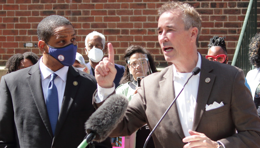 State Sen Joe Morrissey and Lt Gov. Justin Fairfax