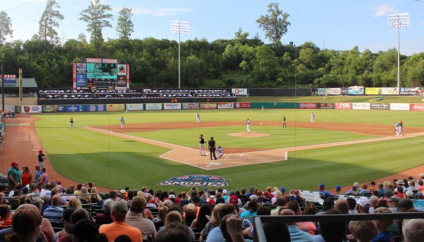 Smokies Stadium in Tennessee