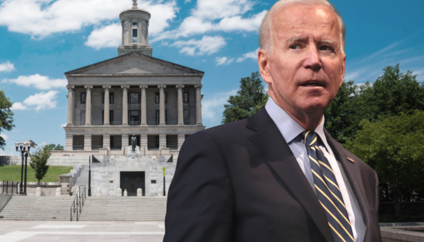 President Biden and the Tennessee Capital