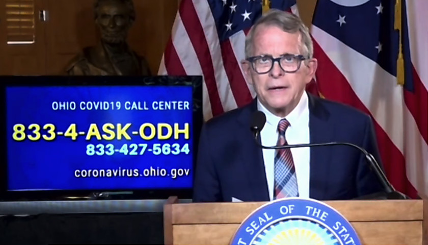 Gov. Mike DeWine COVID press briefing